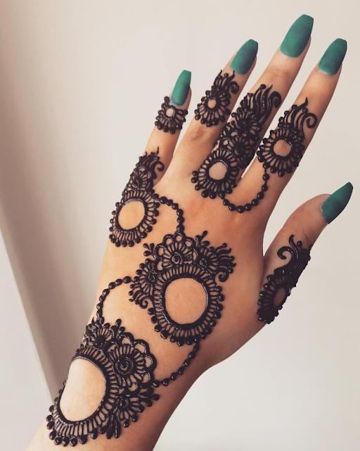 arabic mehndi designs simple