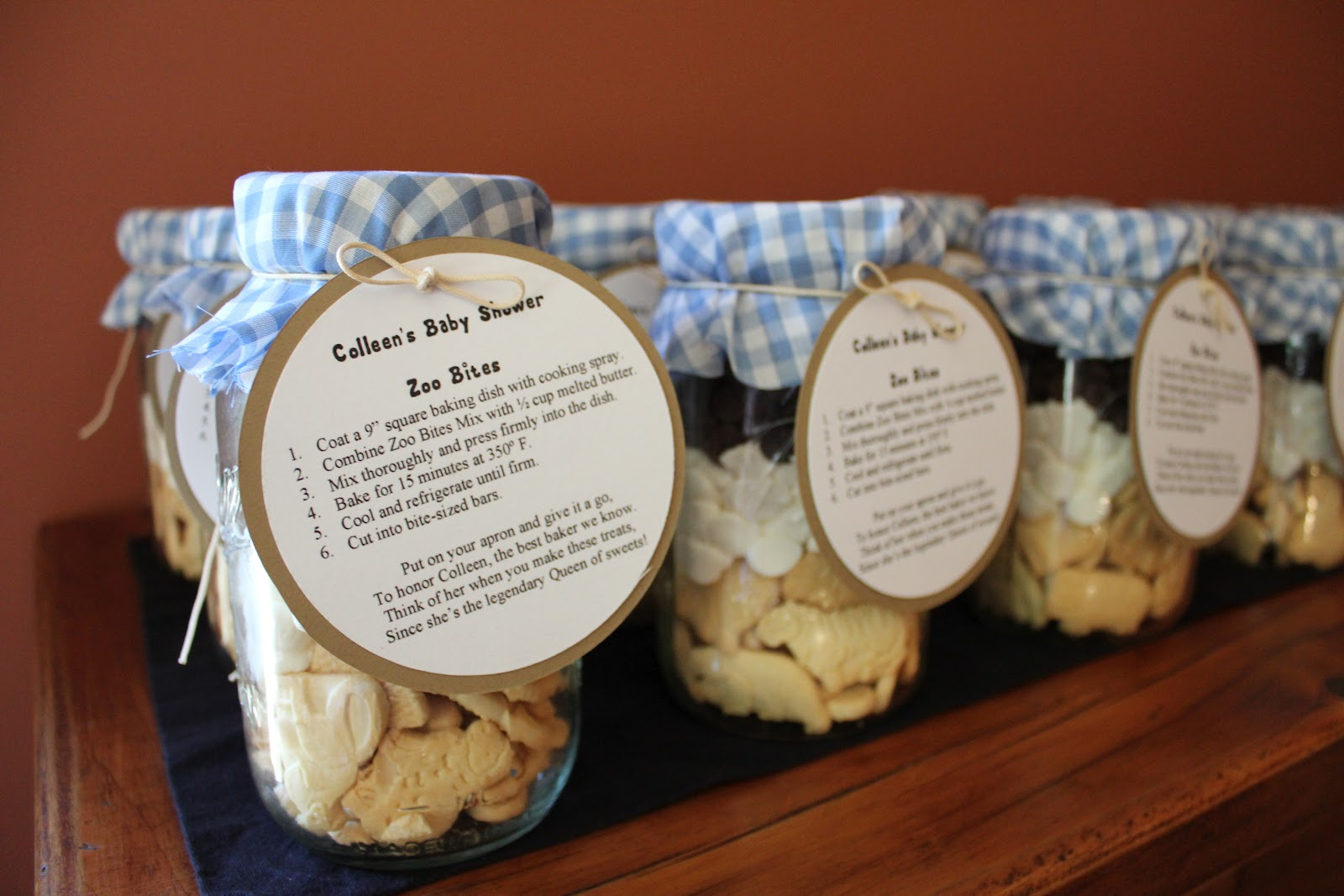Baby Shower Food Ideas: Baby Shower Favor Ideas With Mason ...