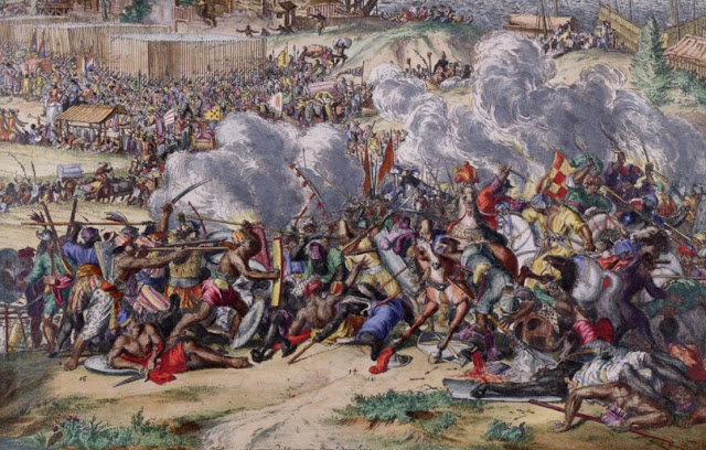 Suasana Perang Makassar