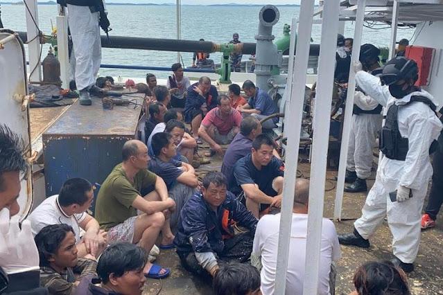AS Memblokir Makanan Laut dari China karena Memperlakukan Awak seperti Budak