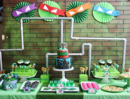 Ideas for a Ninja Turtle Birthday Party