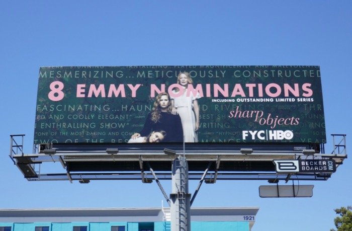 Sharp Objects 8 Emmy nominations billboard