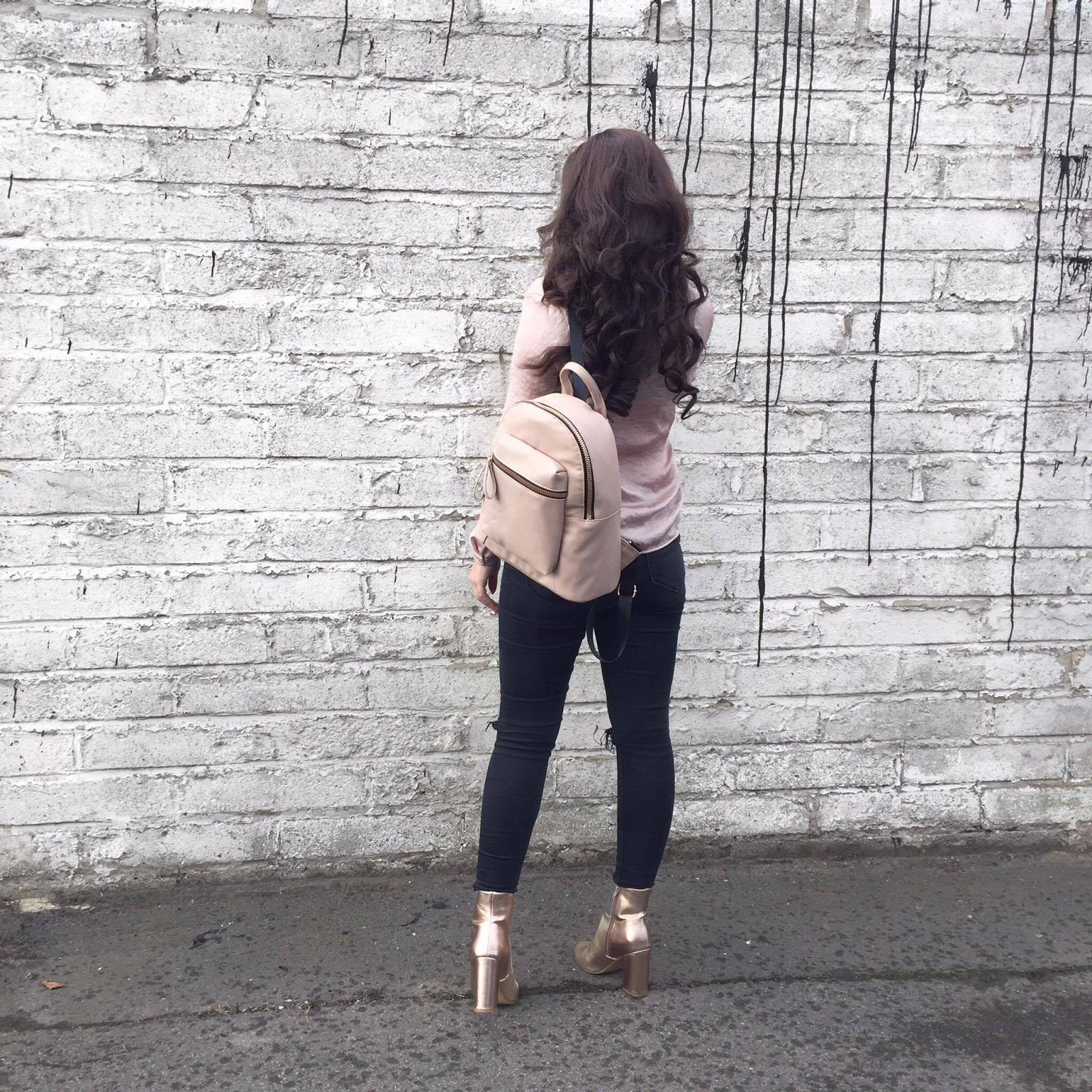Primark Pink Backpack Fashion Blogger