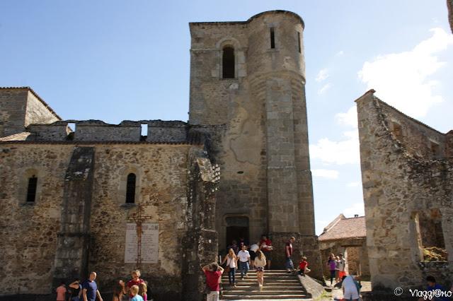 Chiesa del villaggio martire di Oradour sur Glane