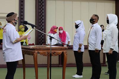 Wagub Chusnunia Tantang ASIAFI Tindaklanjuti Lomba Senam Lampung Berjaya