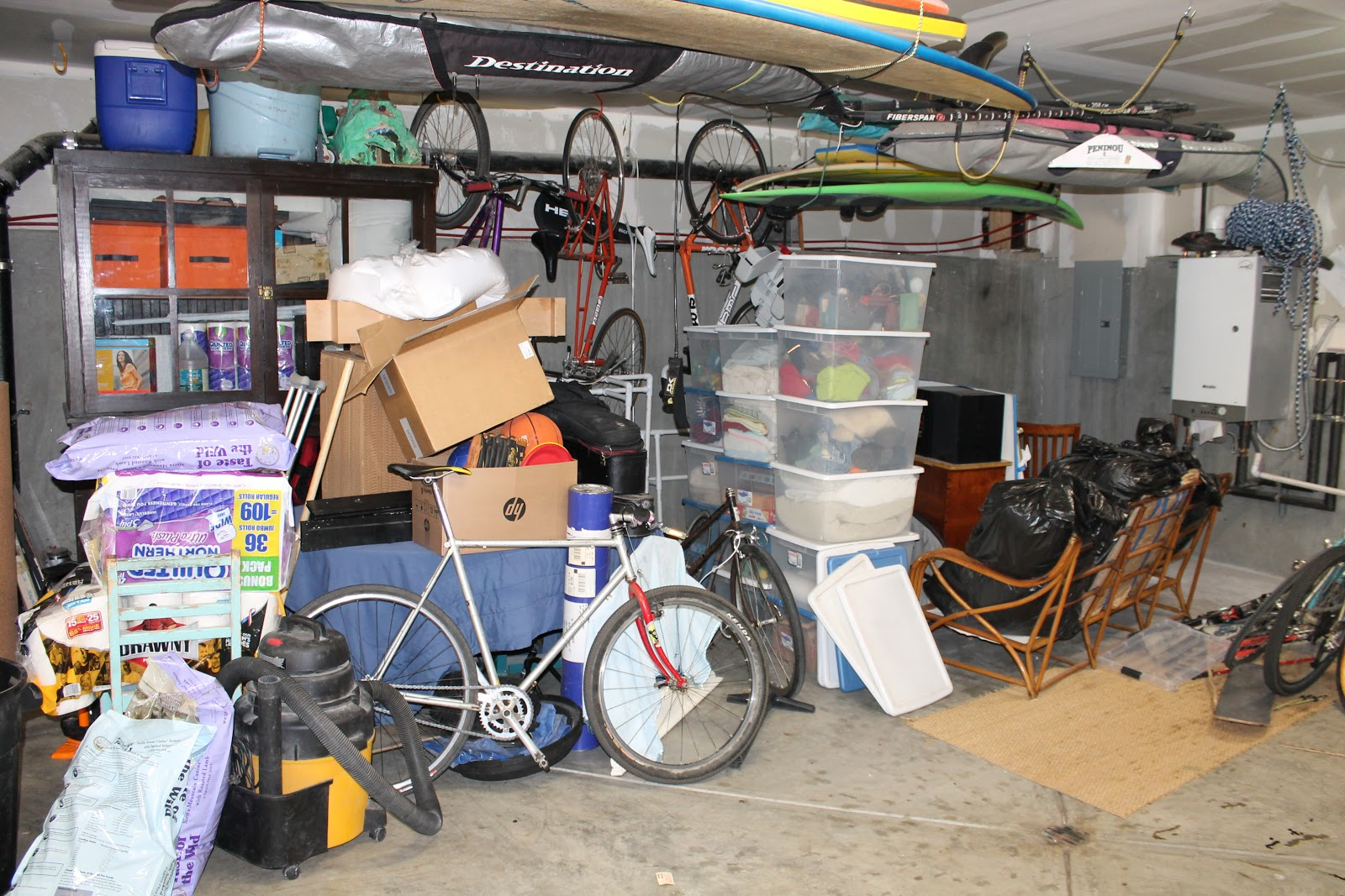 garage sale ideas organize - The Shingled House A Very Messy Garage
