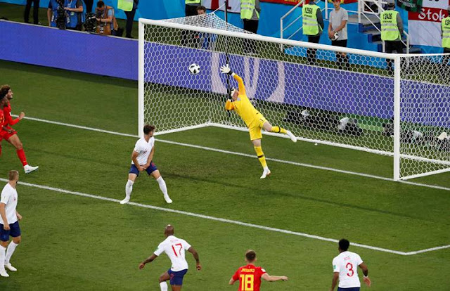 By winning match Belgium made difficult knockout route for England 1-0