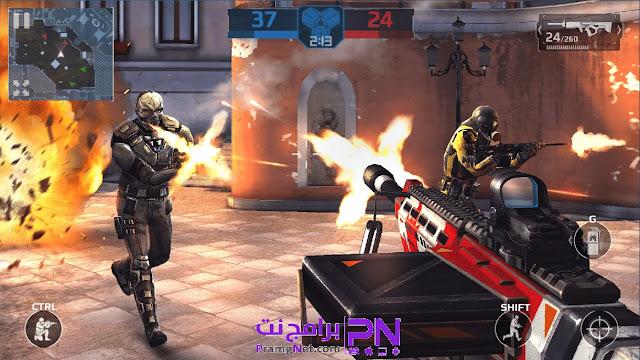 تحميل لعبة Modern combat للكمبيوتر