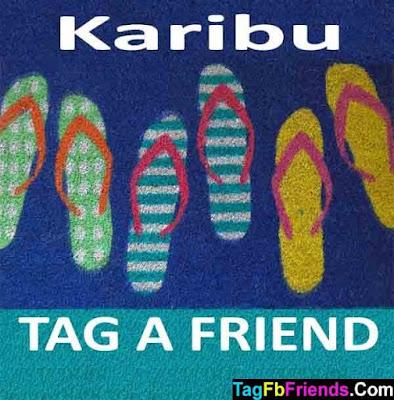 Welcome in Swahili language