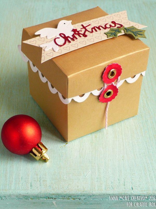 Card e scatolina per Natale da fare con la Big Shot Plus starter Kit