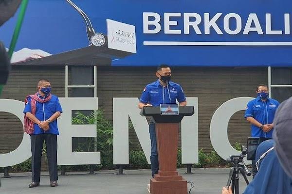 AHY Ungkap Gerakan 'Kudeta' Partai Demokrat yang Didukung Sejumlah Menteri Jokowi