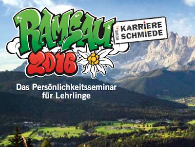Conout Österreich und die REWE Karriere Schmiede in der Ramsau 2016