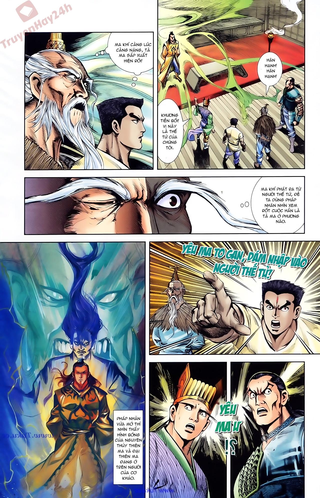 Cơ Phát Khai Chu Bản chapter 75 trang 22