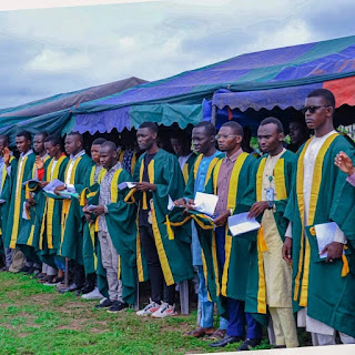 NAUB Matriculates 450 Fresh Students for 2021/2022 Session