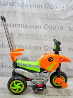 Motor Mainan Aki Pliko PK301 Hibrid: Dinamo Motor dan Gowes 3