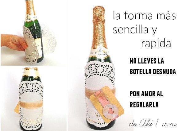 9 formas para envolver botellas para regalar