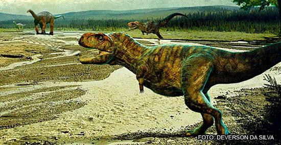 Dinossauro Thanos - 'Tiranossauro' do sudeste brasileiro ganha nome de vilão dos Vingadores - Capa