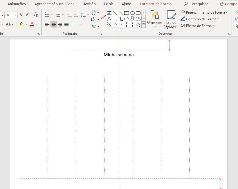 Como fazer um planner semanal no PowerPoint em 5 passos