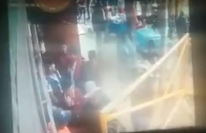 Se conocieron imágenes captadas el momento de la explosión del sábado de carnaval / RRSS