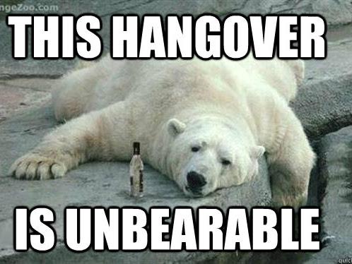 The Hangover Checklist