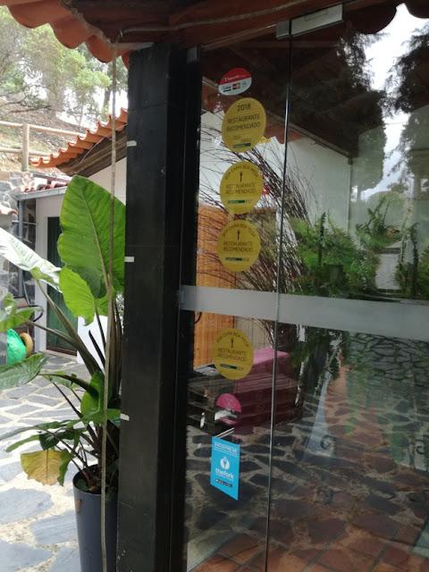 Entrada Restaurante Vimieiro