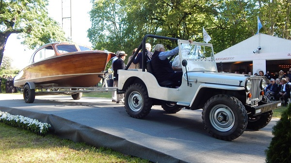 Lancha Automóvil de Paseo Pagliettini
