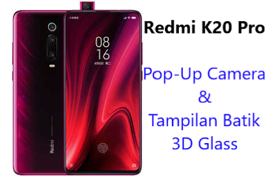 Harga dan spesifikasi Redmi K20 Pro