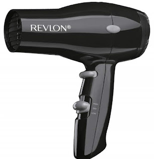 Revlon 1875W Compact And Lightweight Hair Dryer, Black (Best Hair Dryer, Best Blow Drye)