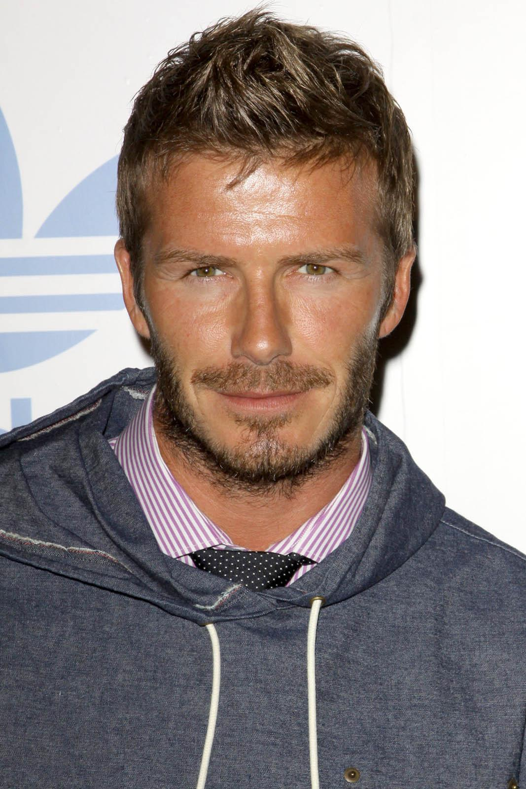 David Beckham Haircut 2011