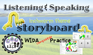 Click here to download Listening and Speaking Storyboard!