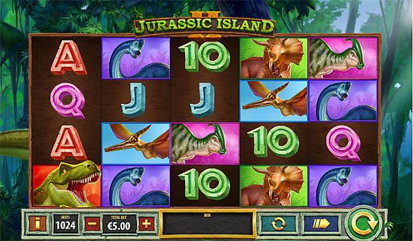 Main Gratis Slot Indonesia - Jurassic Island 2 Playtech