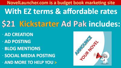 Check out the budget based KICKSTARTER AD PAK