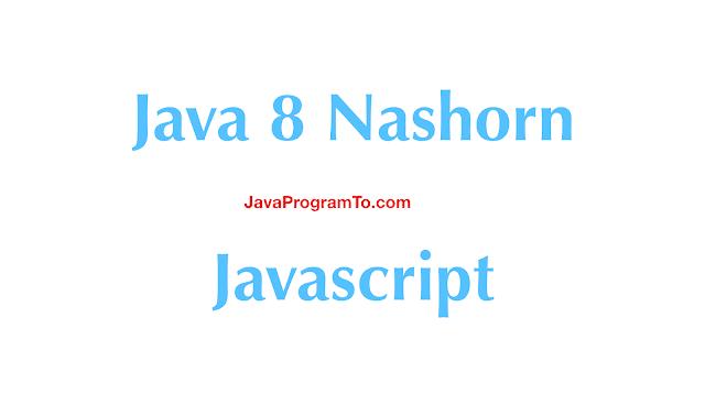 Java 8 Nashorn Javascript