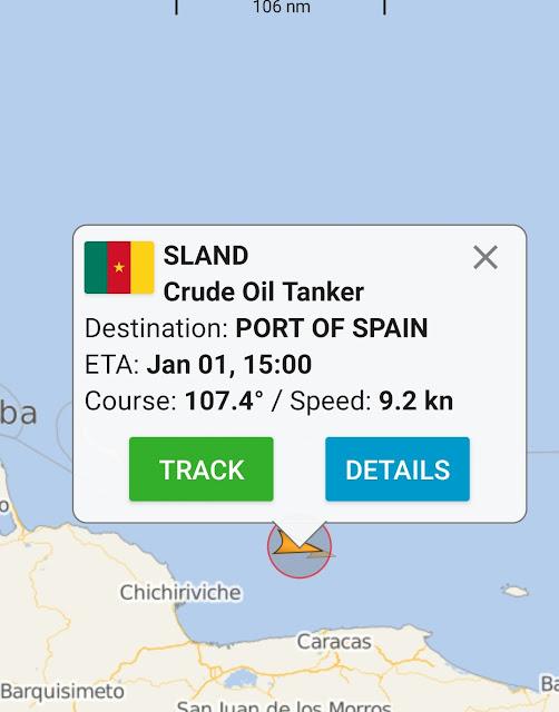 Petrolero asiático desapareció de los radares al acercarse a Venezuela
