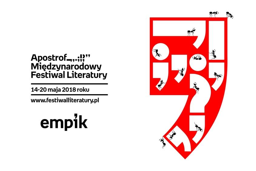 Międzynarodowy Festiwal Literatury Apostrof _,.;!? 14-20 maja!