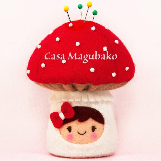 Alfiletero de Hongo por casamagubako.com