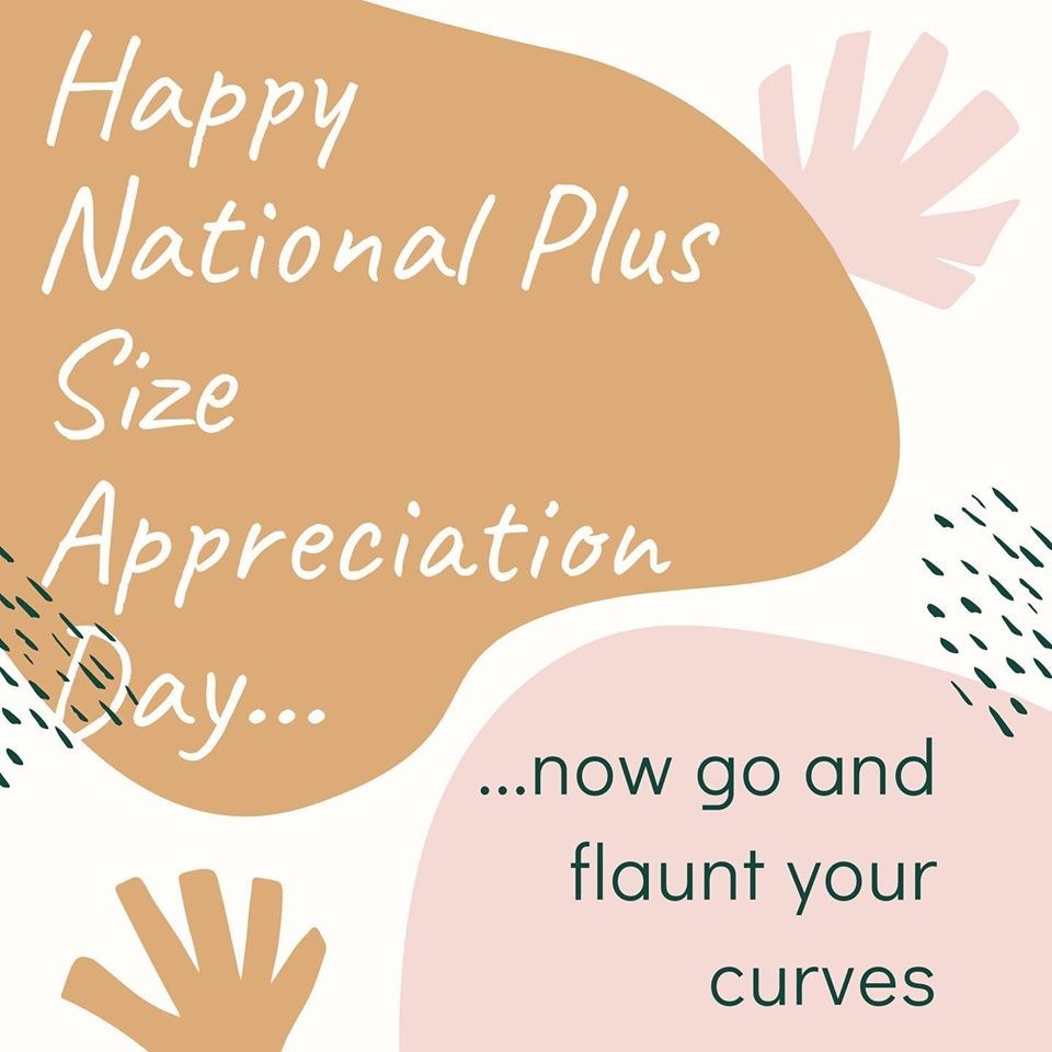 National Plus Size Appreciation Day Wishes For Facebook