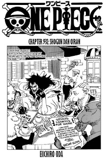 Update! Baca Manga One Piece Chapter 932 Full Sub Indo