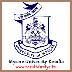 Mysore University Results