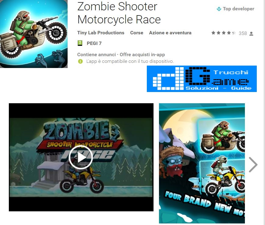 Trucchi Zombie Shooter Motorcycle Race Mod Apk Android v1.0