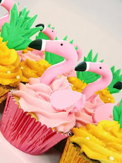 Flamingo Cupcakes Brisbane