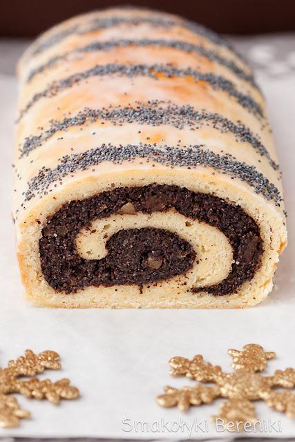 Makowiec z ciasta półkruchego