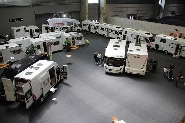 Zona de caravanas en Expovacaciones