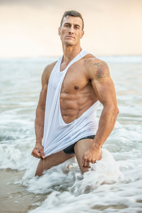 Bryce Kennedy Shirtless by Andrew Hammond