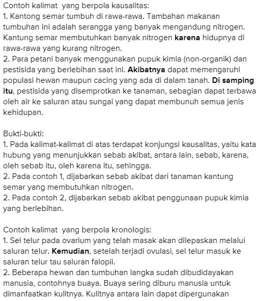 Jawaban Buku Bahasa Indonesia Kelas 8 Kegiatan 5 5 Hal 137 138 Menggunakan Pola Apakah Pentium Sintesi