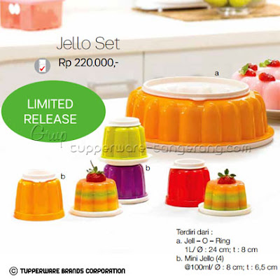 Jello Set Promo Tupperware April 2016