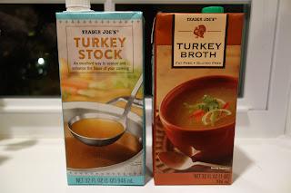 Trader Joe's Turkey Stock and Trader Joe's Turkey Broth
