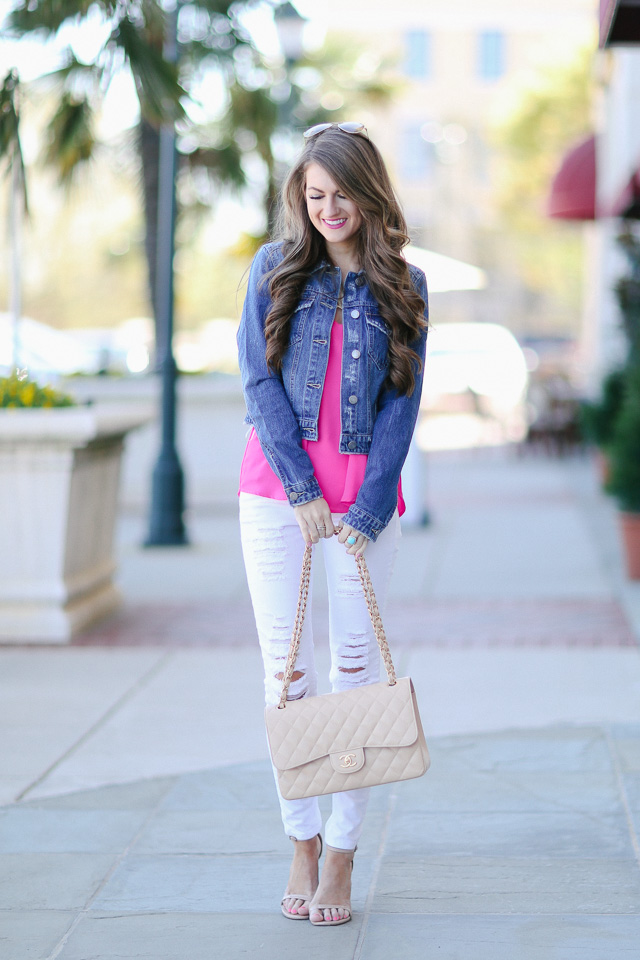 Southern Curls & Pearls: Finally Found: The Perfect Denim Jacket