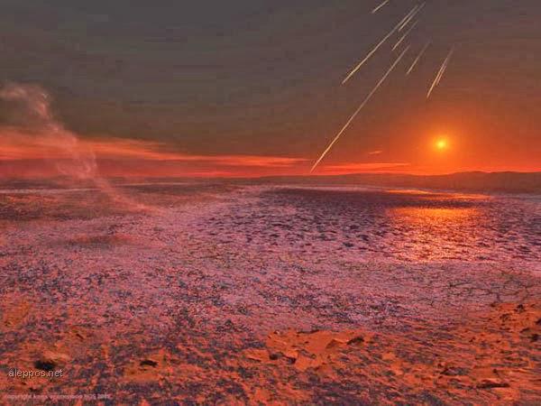 كوكب المريخ وشئ غريب