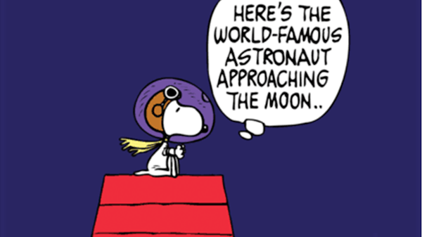 The First Beagle on the Moon!